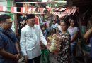 Setelah Shalat Idul Adha, PJ Ketum PB HMI Berbagi Daging Qurban